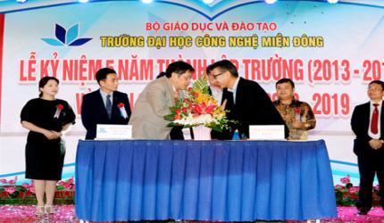 ベトナムの大学と提携しました